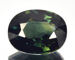 2.77 Cts Natural Sapphire Greenish Blue Oval Australia