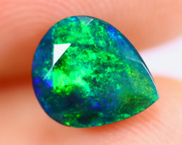 1.19cts Natural Ethiopian Faceted Smoked Welo Opal / KL1003
