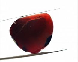 Stunning Natural color Gemmy Quality Garnet Slice 26Cts-GN-2