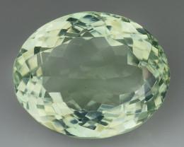 12.04 Cts Prasiolite Stunning Cut and Luster ~ PR31