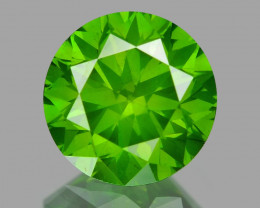 0.65 Ct Green Diamond Top Class Vivid Color GD2