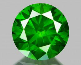 0.88 Ct Green Diamond Top Class Vivid Color GD4