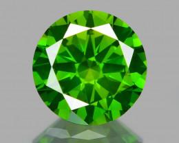 0.53 Ct Green Diamond Top Class Vivid Color GD5