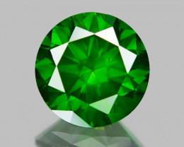 0.83 Ct Green Diamond Top Class Vivid Color GD6