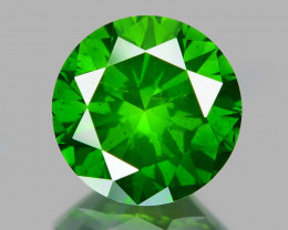 0.81 Ct Green Diamond Top Class Vivid Color GD9