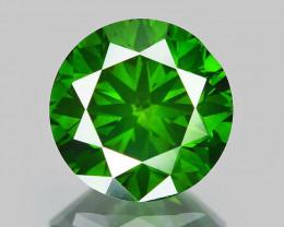 0.83 Ct Green Diamond Top Class Vivid Color GD10