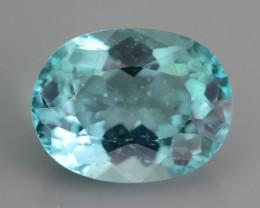Rare 4.99 ct Amazing Luster Blue Apatite SKU.19