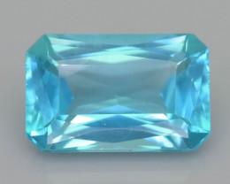 Rare 3.07 ct Amazing Luster Blue Apatite SKU.19