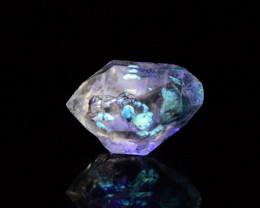 10 CTs Top Quality Fluorescent Petroleum Quartz Crystals@Stak Nala,Pakistan
