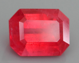Rare Rhodonite 2.36 ct Great Rasberry Color Africa SKU 6