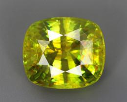 12.93 CT SPHENE DIAMOND LUSTER 100% NATURAL UNHEATED MINE  MADAGASCAR