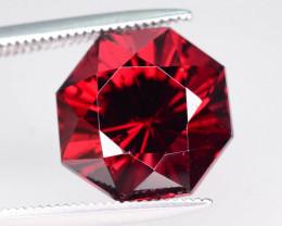 Top Grade 6.55 ct Fancy Cut Red Garnet