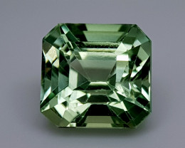8.22Crt Green Spodumene Natural Gemstones JI07
