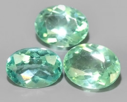 2.90 cts~Surprising Oval Outstanding Unheated Natural Apatite Green!