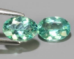 2.10 CTS EXQUISITE GREEN COLOR UNHEATED APATITE~OVAL EXCELLENT!