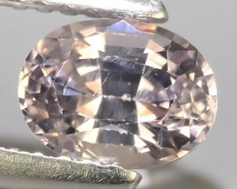 1.00 CTS WONDERFUL MASTER GRADE LUSTROUS OVAL~CUT GRAY SPINEL!!