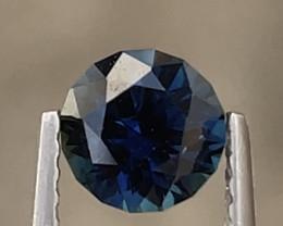 1ct Unheated deep royal blue sapphire
