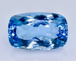 20.29 Crt  Topaz Faceted Gemstone (Rk-78)
