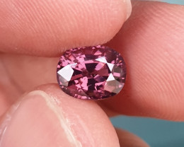 UNHEATED 2.29 CTS NATURAL GORGEOUS VS PURPLE SPINEL TANZANIA