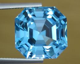 IF  24.40 CT  Beautiful Color Fancy Cut  London Blue Topaz