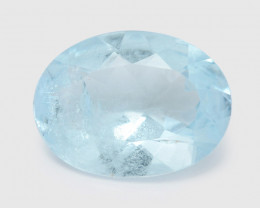 Aquamarine 1.60 Cts Unheated Blue Natural Loose Gemstone
