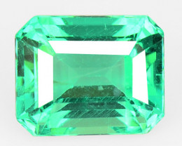 Green Apatite 1.04 Cts Un Heated Natural Loose Gemstone