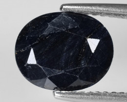 *NoReserve*Black Sapphire 3.03 Cts  Natural Fancy Gemstone
