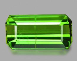 Tourmaline 4.35 Cts Parrot Green Natural Gemstone