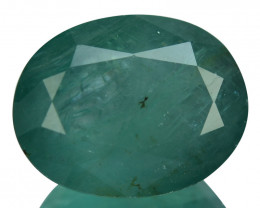 Exceptionally Rare Translucent Quality Natural Grandidierite 8.52 Cts Oval