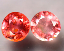 Tourmaline 2.54Ct 2Pcs Natural Pink Tourmaline E2301/B31