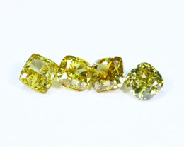0.43cts NATURAL African Yellow Green Fancy Diamond Lots / KL1025