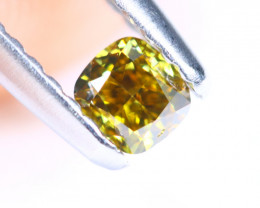 0.25cts NATURAL African Yellow Green Fancy Diamond / KL1030