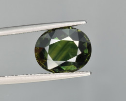 Natural Green Sapphire 5.062 Cts Excellent Quality Gemstone