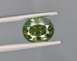 Natural Green Sapphire 3.18 Cts Excellent Quality Gemstone