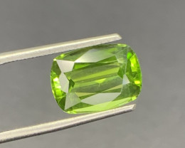 Natural Peridot Gemstone.