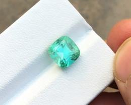 2.90 Ct Natural Green Transparent Tourmaline Gemstone