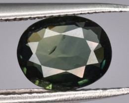 Natural Bicolor Sapphire 0.94 CTS Gem