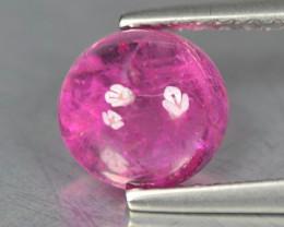 Rubilite Tourmaline 0.65 Cts Pinkish Red Cabochon BGC977