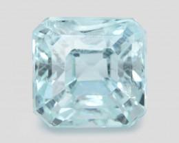 *NoReserve* Aquamarine 1.65 Cts Blue Natural Gemstone