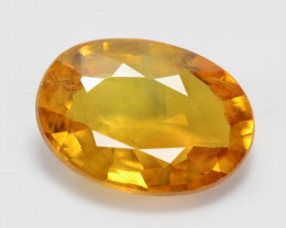 Sapphire 0.97 Cts Amazing Rare Natural Fancy Orange Loose Gemstone