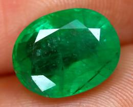 Emerald 2.90Ct Oval Cut Natural Green Color Emerald C2005