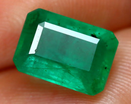 Emerald 2.06Ct Octagon Cut Natural Green Color Emerald C2010