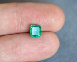 Octagon Panjshir Emerald 1.17ct