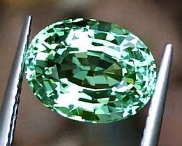 3.56 ct CERTIFIED Copper Bearing Mozambique Paraiba Tourmaline  Gemstone