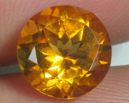 2.460 CRT BEAUTIFUL RARE FACETED GOLDEN YELLOW CITRINE-
