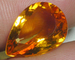 6.675 CRT BEAUTIFUL RARE FACETED GOLDEN YELLOW CITRINE-