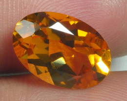 4.070 CRT BEAUTIFUL RARE FACETED GOLDEN YELLOW CITRINE-