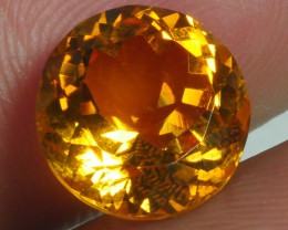 4.830 CRT BEAUTIFUL RARE FACETED GOLDEN YELLOW CITRINE-