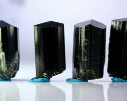 416.40 CTs Natural & Unheated~ Black Tourmaline Crystal Lot