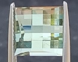 5.16cts  *Pixelated* Green Quartz
